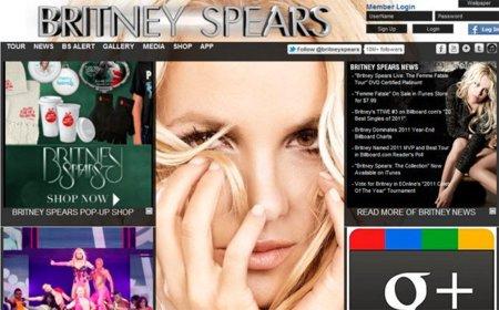 Britney Spears, la primera en llegar al millón de seguidores en Google+