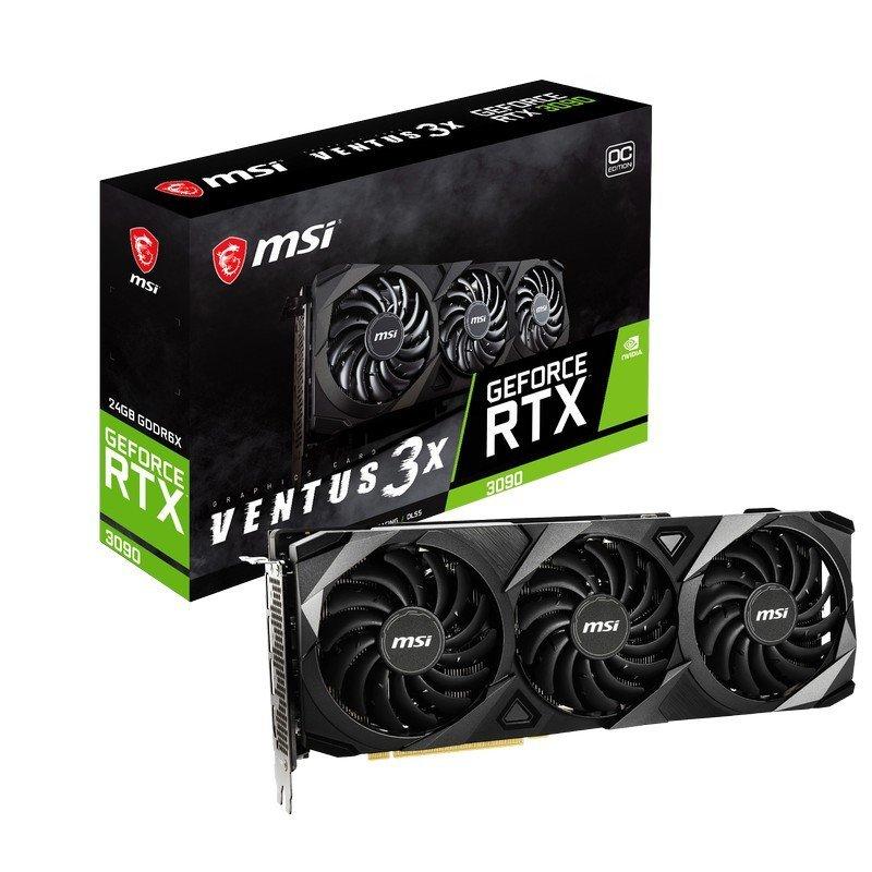 MSI GeForce RTX 3090 VENTUS 3X OC 24GB GDDR6X