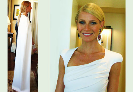 El making of de Gwyneth Paltrow para la Gala de los Oscar