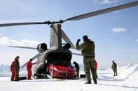 ¿Qué hace un Ferrari FF a 2.350 metros de altura?