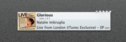 NowPlaying: Widget con información sobre lo que estás escuchando en iTunes