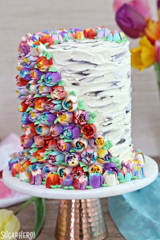 Spring In Bloom Layer Cake 6a