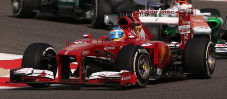 Un componente mecánico falló en el DRS de Fernando Alonso
