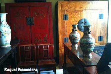 Hemos visto... muebles orientales con encanto