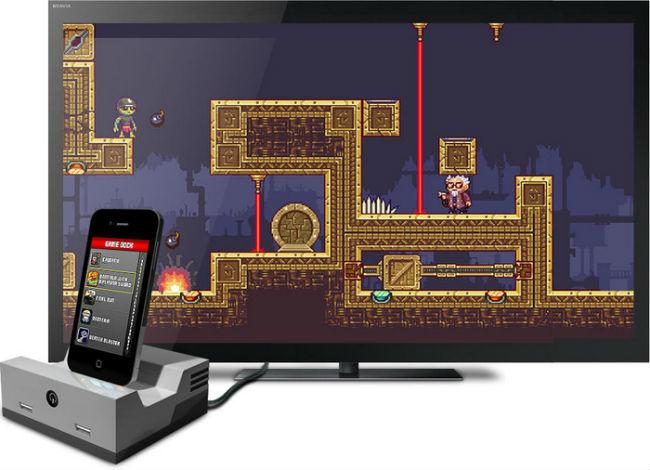 Gamedock for iPhone(Kickstarter)