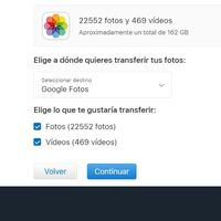 Cómo pasar tus fotos de iCloud directamente a Google Fotos