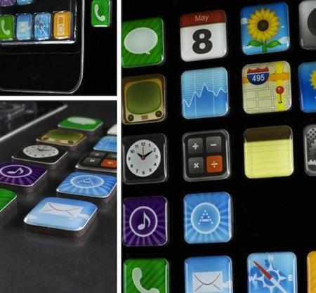Imanes con las aplicaciones del iPhone para tu nevera