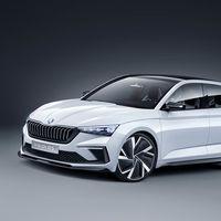 Ya es oficial, el Škoda Vision RS híbrido enchufable de 245 CV prefigura el futuro compacto del fabricante checo