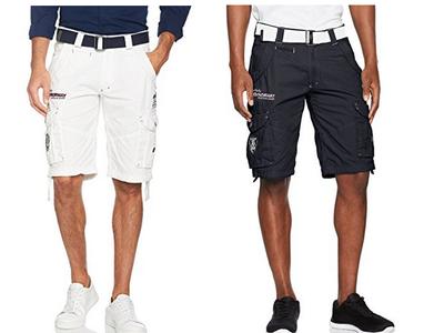 Pantalones cortos para hombre Geographical Norway Poudre Men Assort B desde 16,05 euros en Amazon