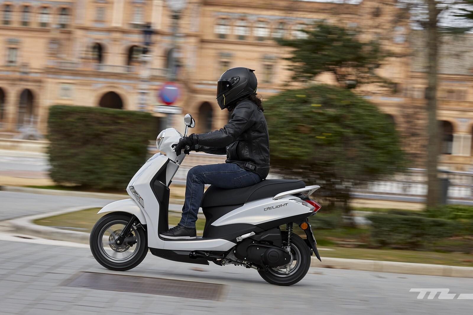 Foto de Yamaha D'elight 125 2021, prueba (19/34)