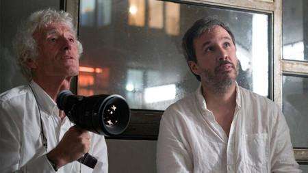 Roger Deakins Denis Villeneuve Blade Runner 2049 696x392