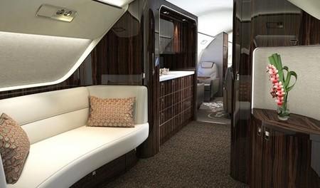 Embraer Lineage1000 interior