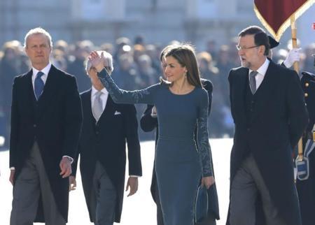 Letizia vuelve a brillar en su primera Pascua Militar como reina