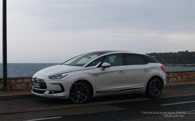 Citroën DS5 HYbrid4, presentación y prueba en Niza