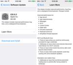 iOS 8.3 ya está disponible, nuevos emojis, mejoras y soluciones a bugs