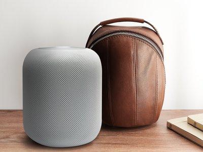 Este fabricante de accesorios ha creado un maletín de piel para el HomePod excesivo pero necesario
