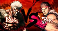 Ryu de 'Street Fighter' y Asura de 'Asura's Wrath' se parten la cara. Razón aquí
