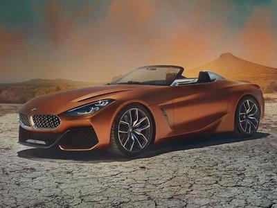 ¡Filtrado! El BMW Z4 Concept sale a pasear por la web