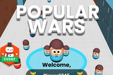 Popular Wars, un juego para Android en el que tendrás que conseguir muchos followers para ganar