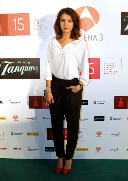Andrea Guasch en el Festival de Málaga