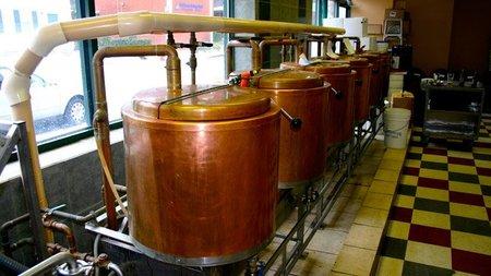 elaboración de la cerveza - cocción mosto