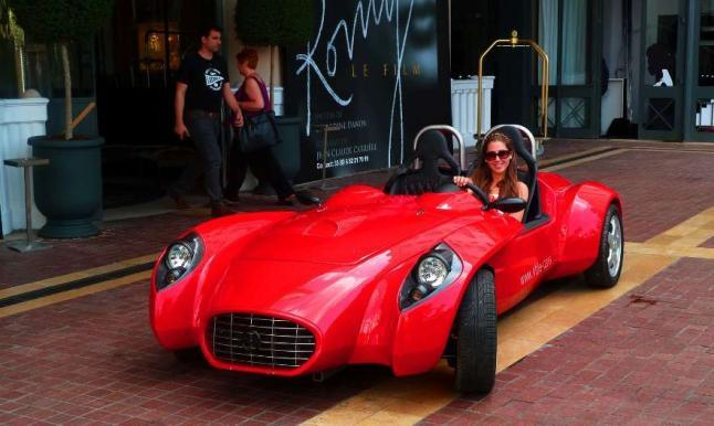 deportivo biplaza eléctrico Little GT-e