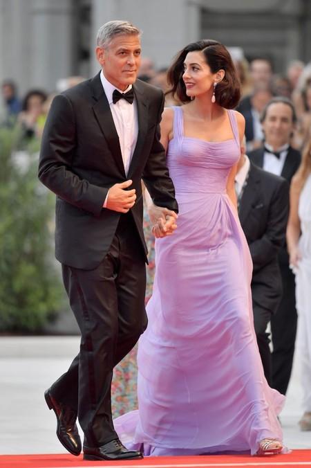 George Y Amal Clooney 2