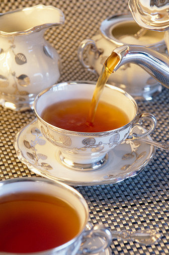 Tomar el té como un perfecto sir