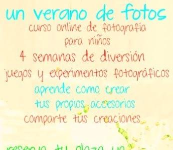 Curso de fotografía online para niños