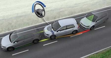 Asistente de mantenimiento de carril de Volkswagen