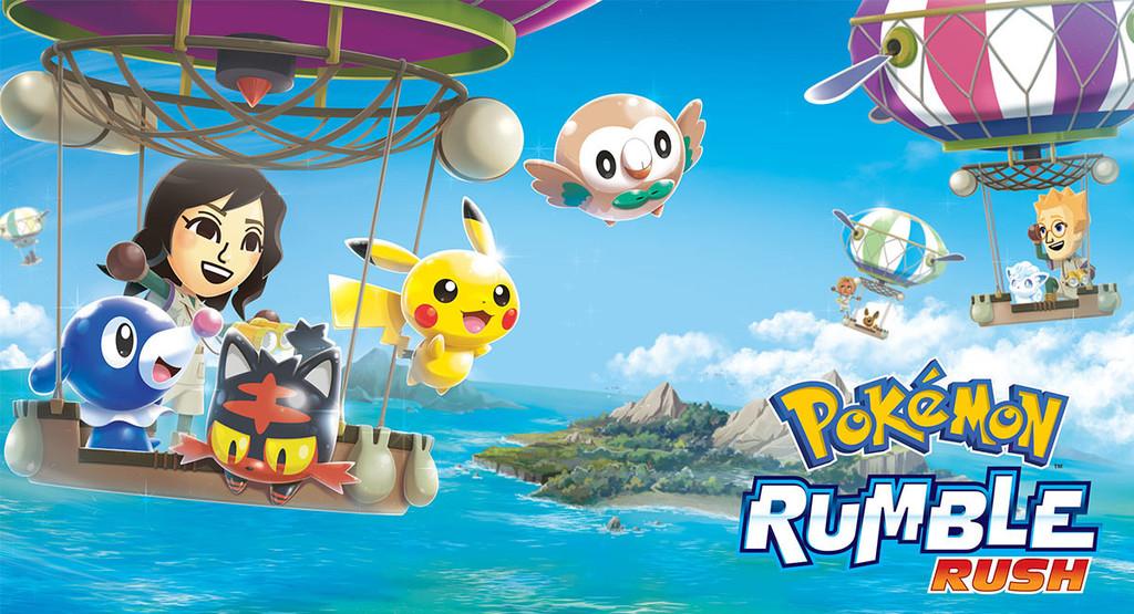 'Pokémon Rumble Rush' viene a Android-OS y ya se puede descargar desde Google® Play