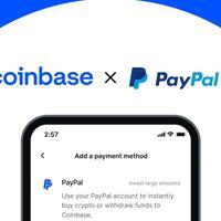 Coinbase cierra el círculo y ahora también permite comprar criptomonedas a través de PayPal