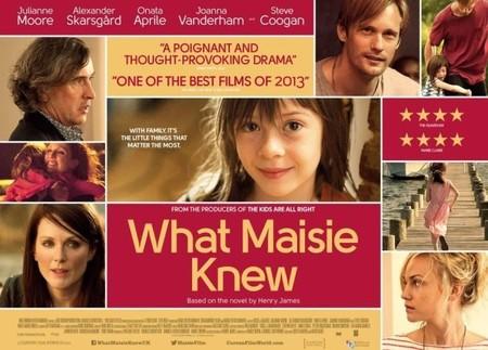 Cartel de Qué Hacemos con Maisie