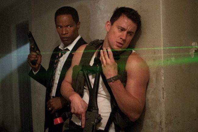 Channing Tatum y Jamie Foxx