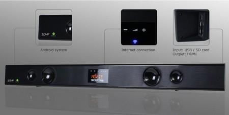 Sceptre SB301524W, barra de sonido que smartiviza nuestros televisores