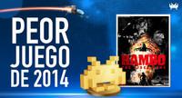 Peor juego de 2014 según los lectores de VidaExtra: Rambo: The Video Game