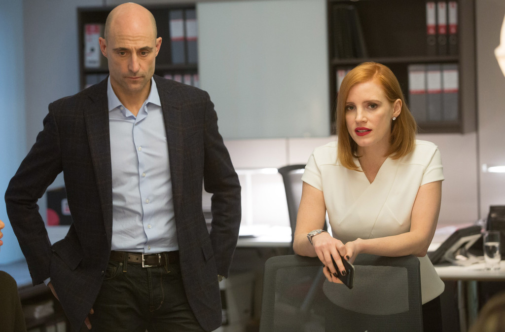 Mark Strong Jessica Chastain