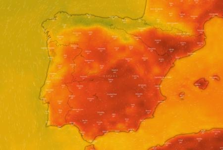 Con estas webs puedes ver en directo la evolución de la ola de calor y de las altas temperaturas del verano