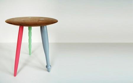 ¿Buena o mala idea? Patas distintas para un mismo mueble