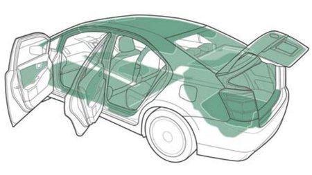 Plásticos ecológicos en el interior del nuevo Toyota Sai
