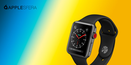 Precio mínimo histórico para el Apple Watch Series 3 Cellular de 42 mm en Amazon por 329 euros