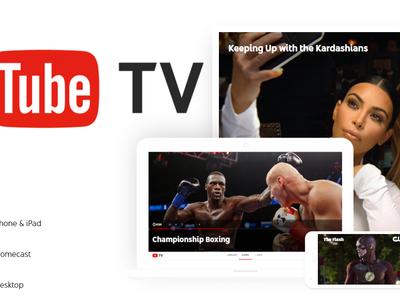 YouTube TV ya está al aire, pero solo para Estados Unidos por ahora