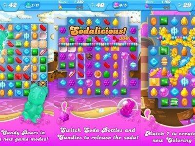 Candy Crush Soda Saga se actualiza y añade hasta 20 nuevos niveles