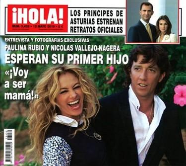 Paulina Rubio y Colate esperan su primer hijo