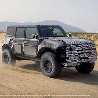 """La versión """"Raptor"""" de Ford Bronco no se llamará Warthog"""