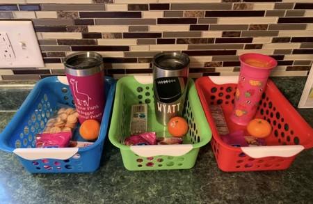 El inteligente truco de una madre para evitar que sus hijos pidan snacks a todas horas, ahora que nos quedamos en casa