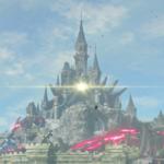 Un nuevo truco de Zelda: Breath of the Wild permite viajar hasta lo más alto del castillo de Ganon con golpear una piedra