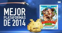 Mejor juego de plataformas de 2014 según los lectores de VidaExtra: Donkey Kong Country: Tropical Freeze
