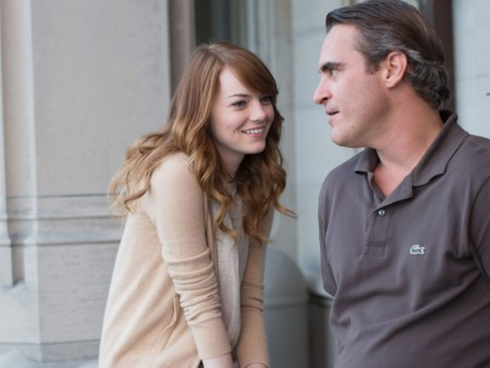 Emma Stone y Joaquin Phoenix en la primera imagen oficial de Irrational Man