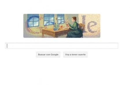 Google homenajea a Marie Curie
